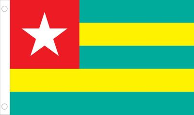 Togo World Flag