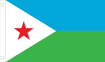 Djibouti World Flag
