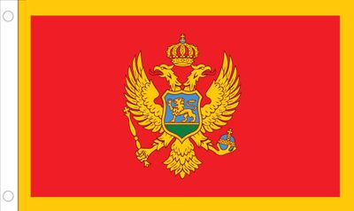 Montenegro World Flag