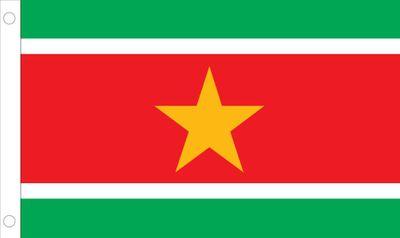 Suriname World Flag