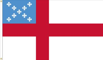 Episcopal Flag - 5' x 8' - Nylon
