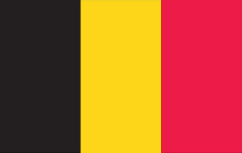 Belgium World Flags - Nylon & Polyester - 2' x 3' to 5' x 8'
