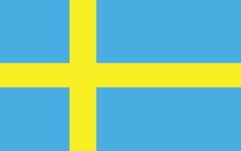 Sweden World Flags Nylon Polyester 2 X 3 To 5 X 8