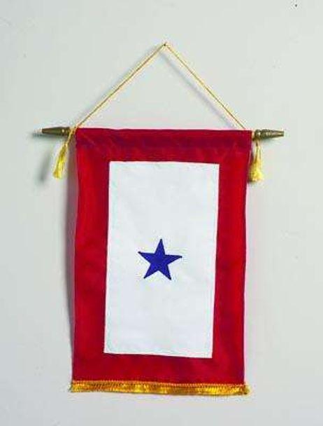 Blue Star Banner - Three Stars